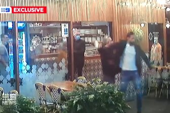 A couple allegedly attacked the owner of a restaurant after they refused to check in to the Mid North Coast venue with a QR code.
