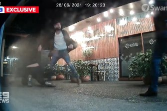 A couple allegedly attacked the owner of a restaurant after they refused to check-in to the Mid North Coast venue with a QR code.
