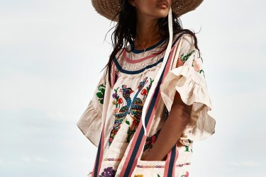A dress from Zimmermann's new collection has been removed from sale after the brand acknowledged it heavily borrowed from traditional Oaxaca handicrafts without appropriate credit or involvement of cultural groups.