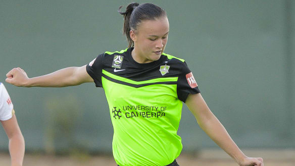 Teenager Sayer the bolter in Matildas Tournament of Nations squad