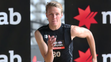 South Australian forward Jack Lukosius is unlikely to be available at Adelaide's first pick.