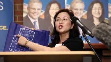 Liberal Candidate for Chisholm, Gladys Liu.