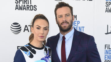 Hammer split from his wife Elizabeth Chambers in 2020, after 10 years of marriage.