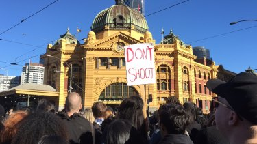 Thousands of people went to Black Lives Matter protests around Australia over the weekend.