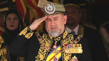 Malaysia's King Sultan Muhammad V on Sunday abdicated in an unexpected and rare move.