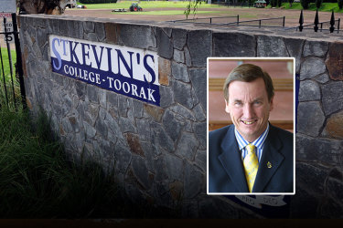St Kevin's College headmaster Stephen Russell resigns in wake of grooming scandal
