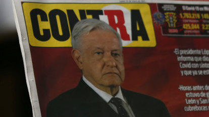 COVID-19 strikes Mexico's axis of power