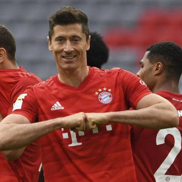 World's best: Robert Lewandowski enters the Euro's in red-hot form.