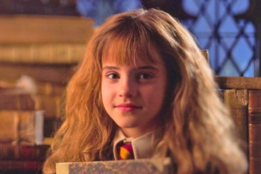 A young Hermione Granger, a popular Book Week choice.,