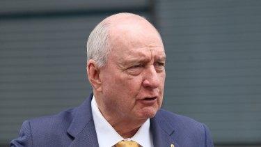 Radio Host Alan Jones is part of the merger puzzle.