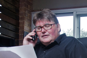 Haventec co-founder Ric Richardson at his northern NSW home at the time of his Microsoft victory.