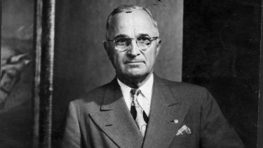 Harry S. Truman, an accidental president who knew about accountability.