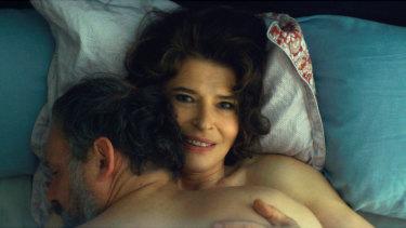 Fanny Ardant inLa Belle Epoque.