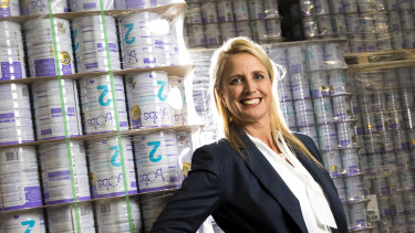 Bubs Australia boss and founder Kristy Carr says the building blocks are in place for the company to deliver its first profit next financial year.