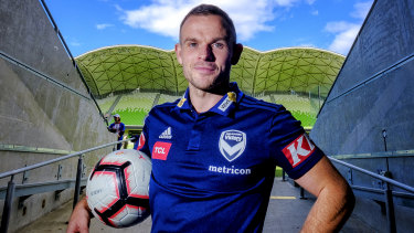Leigh Broxham has won the Victory Medal for the 2018-19 season.