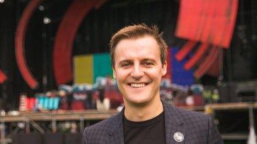 Global Citizen CEO, Australian humanitarian Hugh Evans.