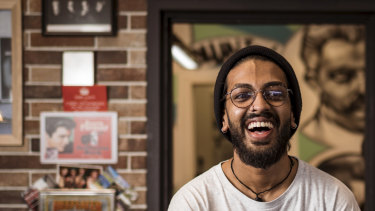 Zeke Jattan, 23, credits becoming a barber with turning his life around.