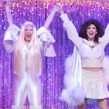 Muriel's Wedding The Musical starring Natalie Abbot and Stefanie Jones.