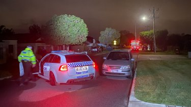 Homicide detectives have swooped on Halvorson Road in Morley after a man was found dead on Monday night.