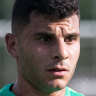 Melbourne Victory in talks to sign Socceroos striker Andrew Nabbout