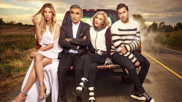 Schitt's Creek - the breakout hit of 2020 and a strong Emmy contender.