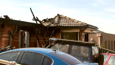 A Wallan house was left gutted on Christmas Eve after a fire.