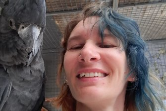 Katrina Reeve, 39, died when her motorbike crashed on the Mitchell Freeway during a charity ride on Sunday.