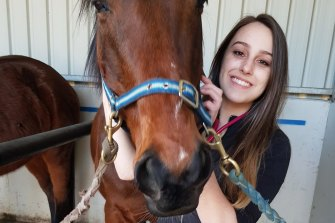 Krystal Browitt is known for her gentle nature and love of animals.