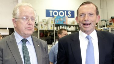 Perennial Liberal candidate Michael Feneley (pictured left, with Tony Abbott), is expected to be among the nominations to replace Arthur Sinodinos in the Senate.