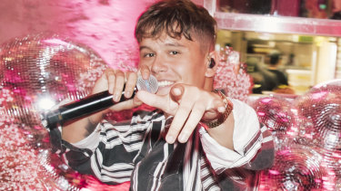 Former X Factor Jai Waetford performed his hit 'Friends'.