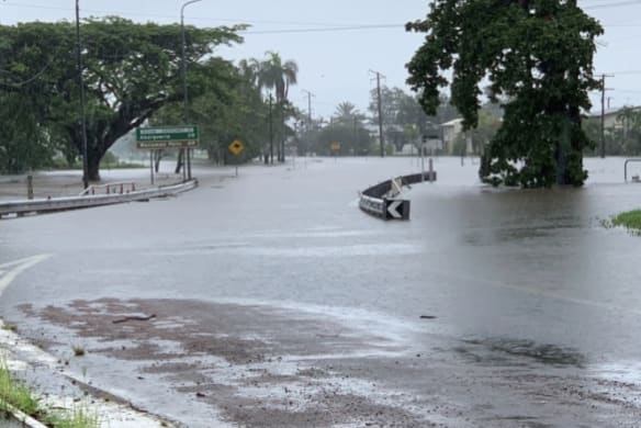 Boy, 4, revived hours after teen drowns in flood
