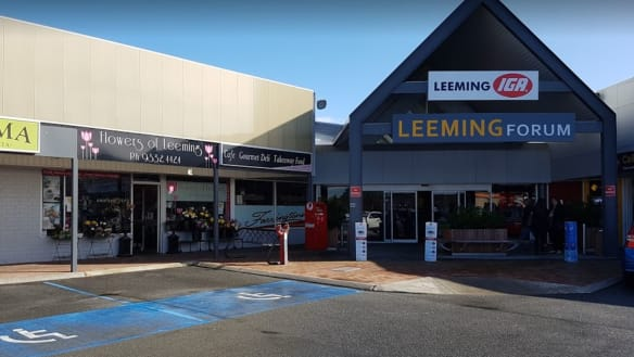 Stolen car used in shopping centre ram raid south of Perth