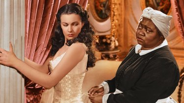 Vivien Leigh and Hattie McDaniel in the 1939 film adaptation of Gone With the Wind.