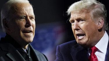 Election 2020: Joe Biden and Donald Trump.