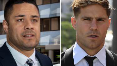 In late 2020, juries failed to reach decisions in cases involving football stars Jarryd Hayne and Jack de Belin.