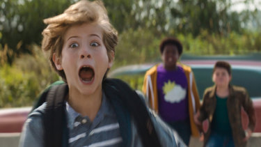 Max (Jacob Tremblay), Thor (Brady Noon) and Lucas (Keith L. Williams) in Good Boys.