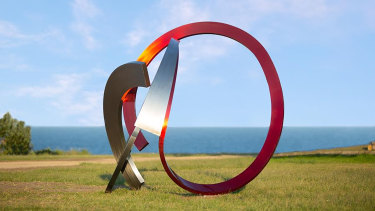 James Parrett's M-fortysix won last year's Sculpture by the Sea.