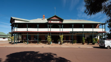 The Woolshed Hotel was built in 1927.