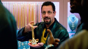 Adam Sandler is a jeweller in a whole lot of trouble in Uncut Gems.