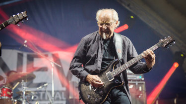 Martin Barre's guitar work never received the attention it deserved while he was with Jethro Tull.