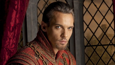Jonathan Rhys Meyers is Henry in The Tudors.