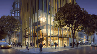 Renders of the Quincy Hotel Melbourne, in Flinders Lane, by Toga Far East.