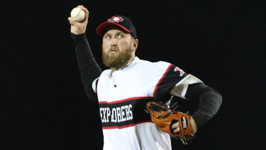 Californian relief pitcher Nate Gercken can't wait to represent Perth Heat this season.