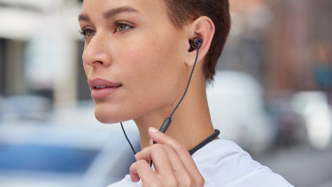 The Bullets Wireless 2 can switch between two connected source devices with the tap of a button.