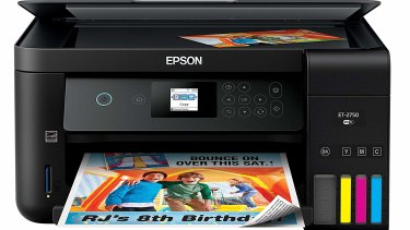 Printers like the Epson ET-2750 cost a lot more up front, but you don't need to constantly buy new ink.