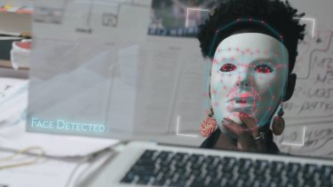 Only when Joy Buolamwini donned a white mask did the algorithm recognise her face.