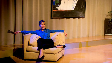 Alone in your lounge? Why not watch Griffin Theatre's Emerald City?