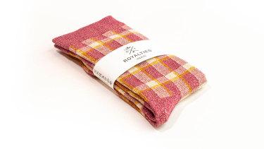 "Royalties Paris ""Kim Pivoine"" socks."