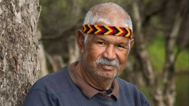 Aboriginal Elder Harry Nannup.