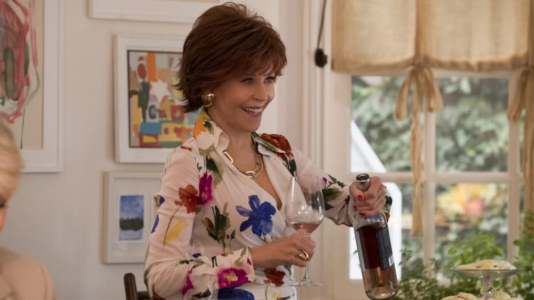Jane Fonda in a scene from Book Club.